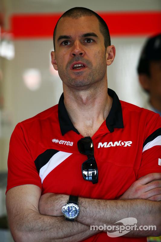 Marc Hynes, Manor Marussia F1 Team, Fahrercoach