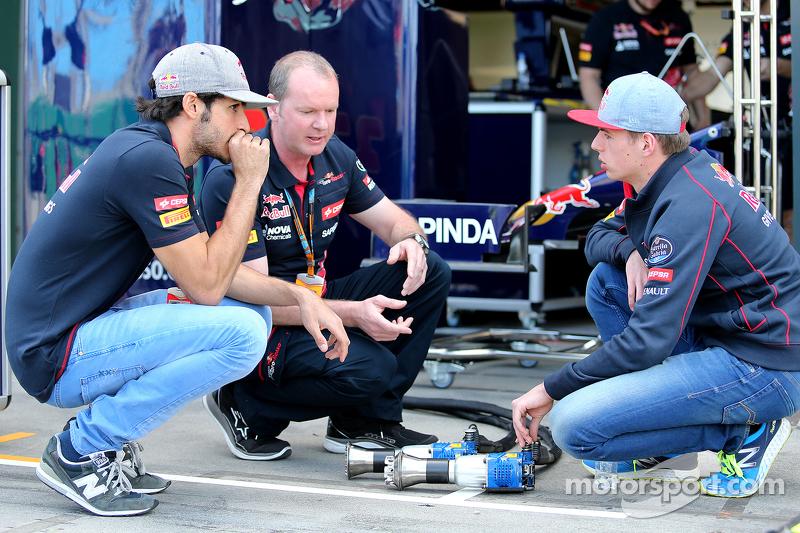 Карлос Сайнс мл., Scuderia Toro Rosso и Макс Ферстаппен, Scuderia Toro Rosso