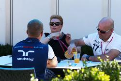 Valtteri Bottas, Williams, mit seinen Eltern