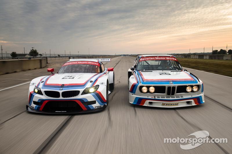1975 BMW IMSA 3.0 CSL e 2015 Team RLL BMW Z4