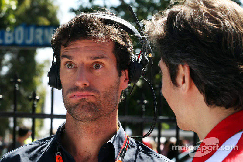 Марк Веббер, Porsche Team WEC Driver з Массімо Рівола, Ferrari Спортивний директор