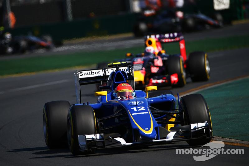 2015 год, Гран При Австралии, Фелипе Наср, Sauber, 5-е место
