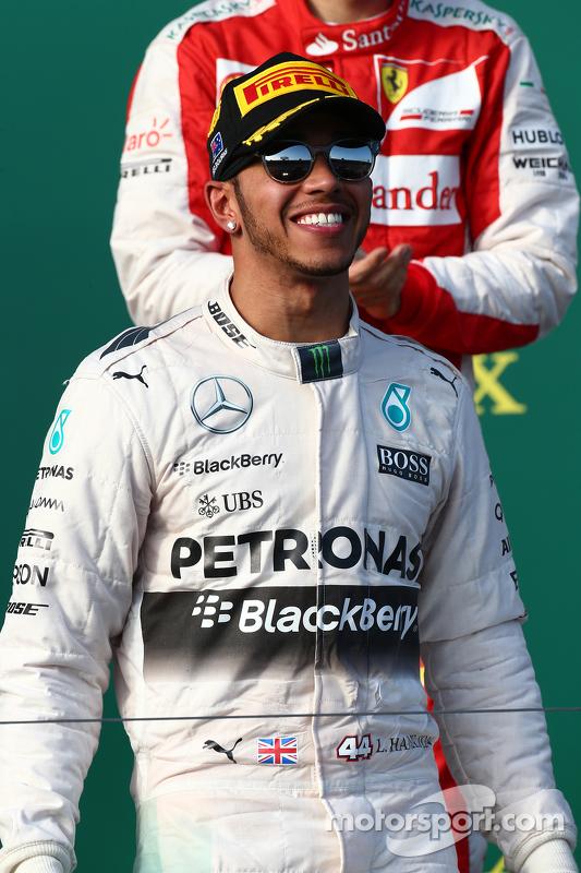 Juara balapan Lewis Hamilton, Mercedes AMG F1