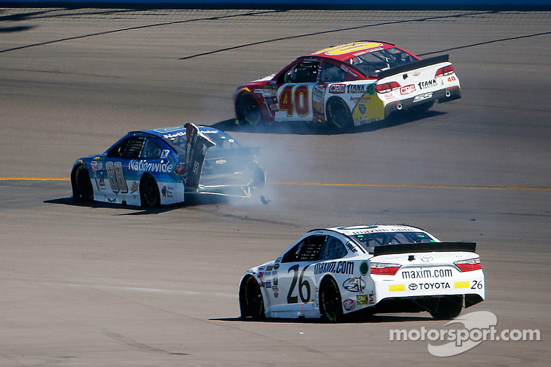 Dale Earnhardt Jr., Hendrick Motorsports Chevrolet kecelakaan