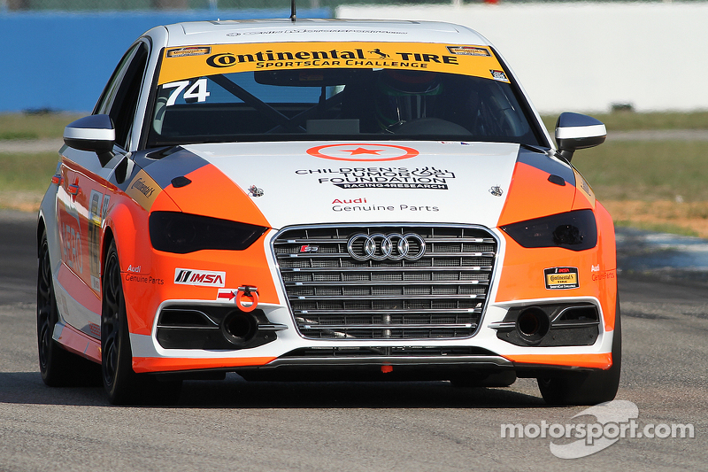 #74 Compass360 Racing,奥迪S3: Jim McGuire, Nico Rondet