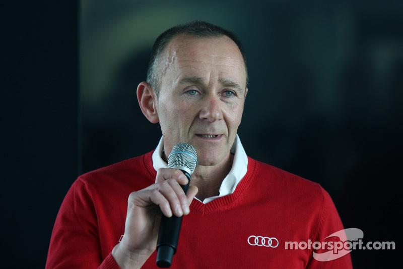 Jörg Zander, Leitender Ingenieur bei Audi Sport