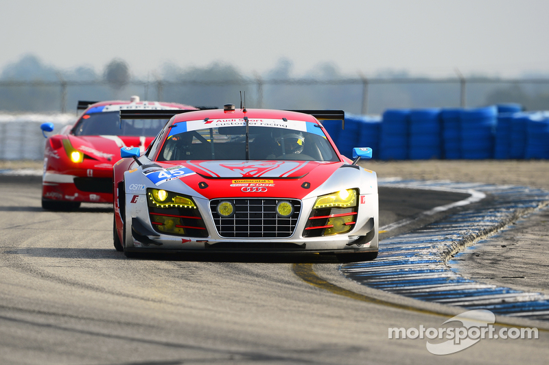 #45 Flying Lizard Motorsports Audi R8 LMS: Marco Holzer, Robert Thorne, Colin Thompson