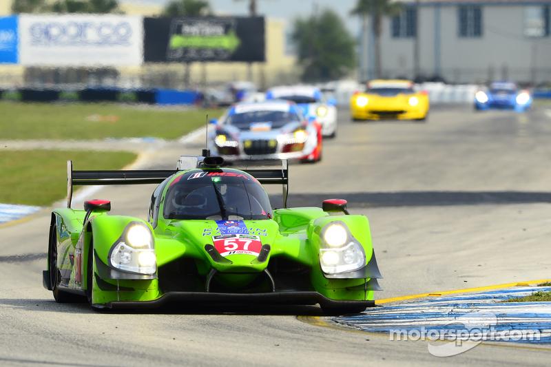 #57 Krohn Racing Ligier JS P2 Judd: Tracy Krohn, Olivier Pla, Nic Jonsson