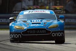 #007 TRG-AMR, Aston Martin V12 Vantage: Brandon Davis, Christina Nielsen, James Davison