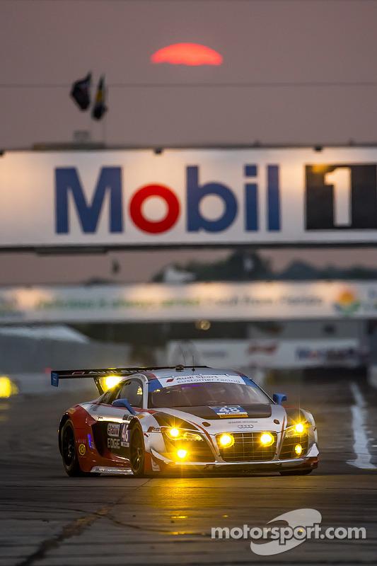 #48 Paul Miller Racing, Audi R8 LMS: Christopher Haase, Bryce Miller, Dion von Moltke