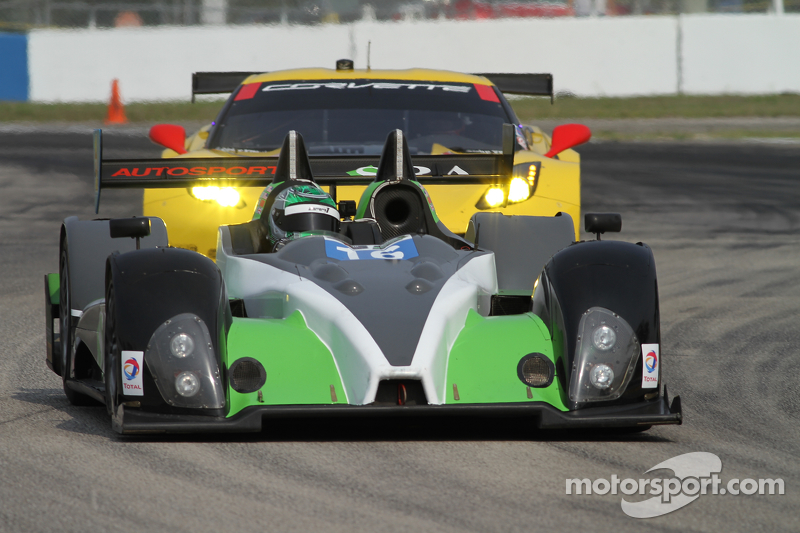 #16 BAR1 Motorsports, Oreca FLM09: Marc Drumwright, David Cheng, Tomy Drissi, Martin Plowman