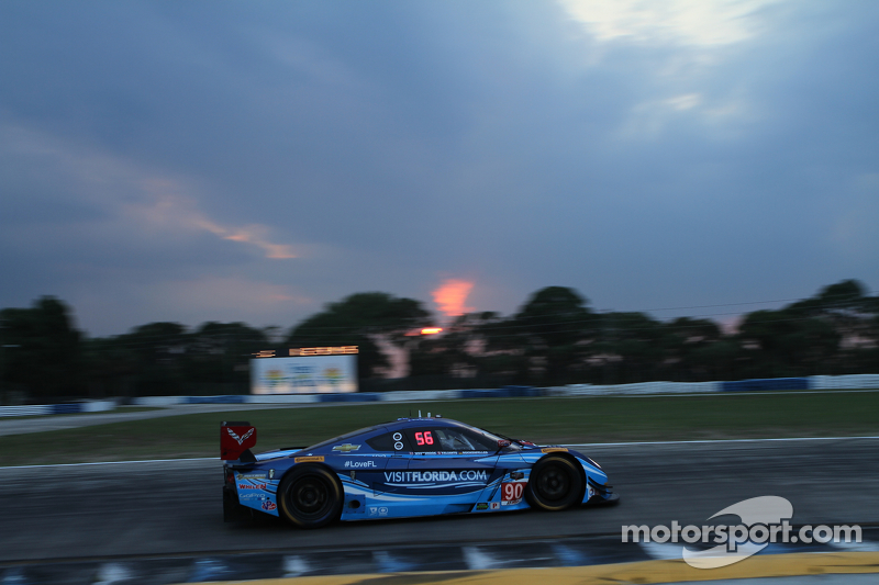 #90 VisitFlorida.com Racing Corvette DP: Richard Westbrook, Michael Valiante, Mike Rockenfeller