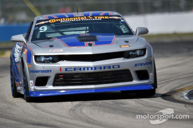 #9 Stevenson Motorsports Camaro Z/28.R: Lawson Aschenbach, Matt Bell