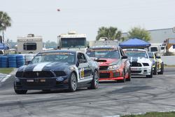 #158 Multimatic Motorsports,野马Boss 302R: Jade Buford, Austin Cindric