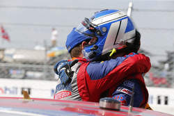 Vincitori della gara Robin Liddell e Andrew Davis, Stevenson Motorsports