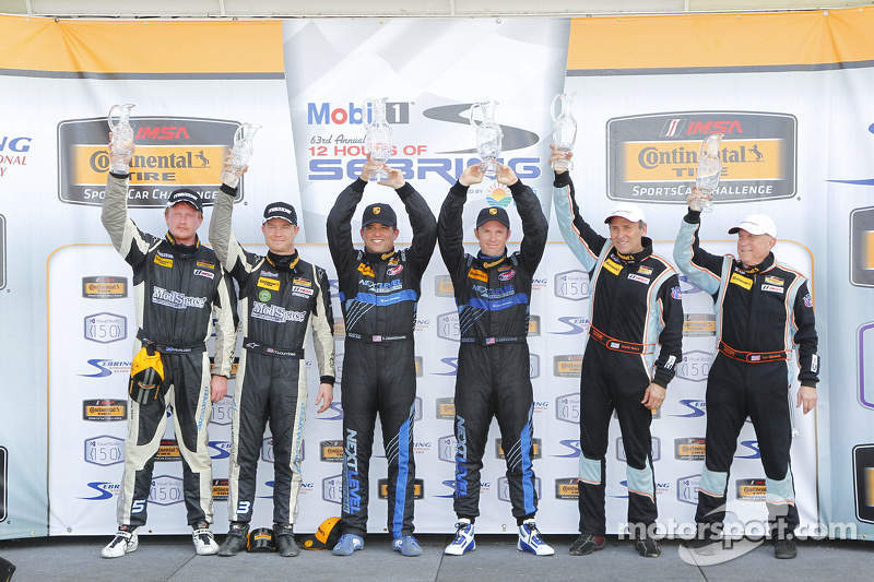 ST podium: winners Greg Liefooghe, Eric Zimmermann, second place Ted Giovanis, David Murry, third pl