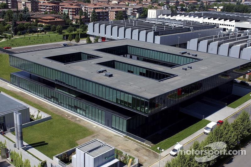 Sviluppo production center - Ferrari