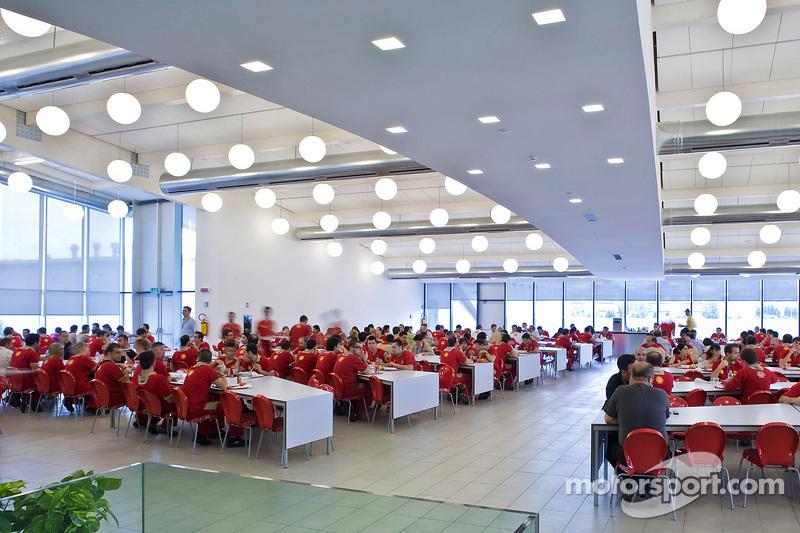 Ferrari factory restaurant