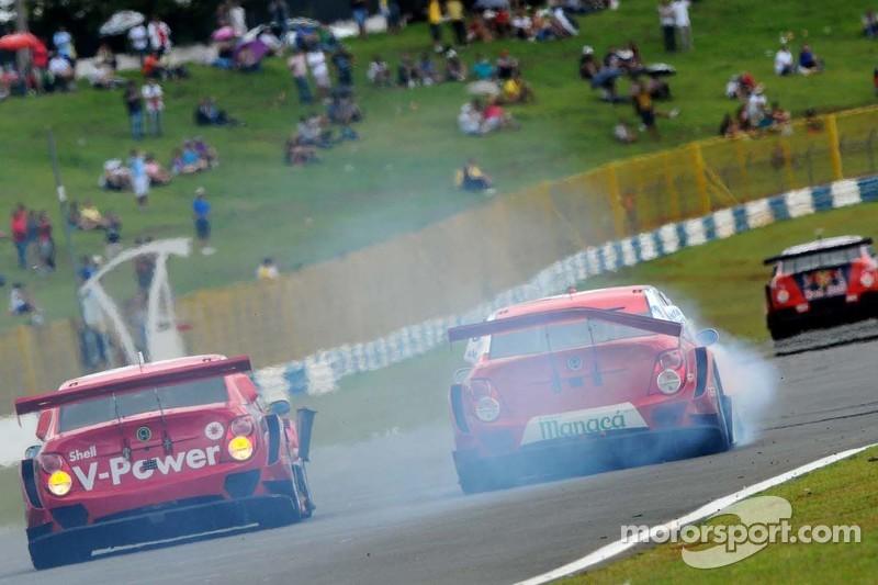 #8 RZ Motorsport 雪佛兰: Rafael Suzuki, Antonio Perez和#10 壳牌车队,雪佛兰: Ricardo Zonta, 雅克·维勒纽夫