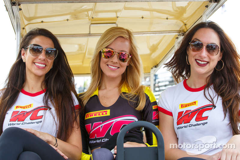 PWC grid girls