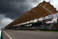 Dark clouds over the circuit