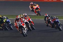 Andrea Dovizioso, Ducati Team dan Jorge Lorenzo, Yamaha Factory Racing dan Andrea Iannone, Ducati Team dan Bradley Smith, Monster Yamaha Tech 3 dan Dani Pedrosa and Marc Marquez, Repsol Honda Team