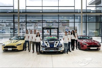 Aston Martin Evolución Academia, integrantes