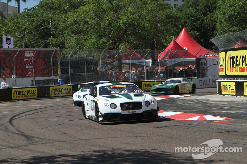 #20 Team Bentley Dyson Racing Bentley Continental GT3: Butch Leitzinger