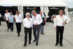 Marcello Lotti WSC CEO y Bernie Ecclestone presidente y CEO de la FOM