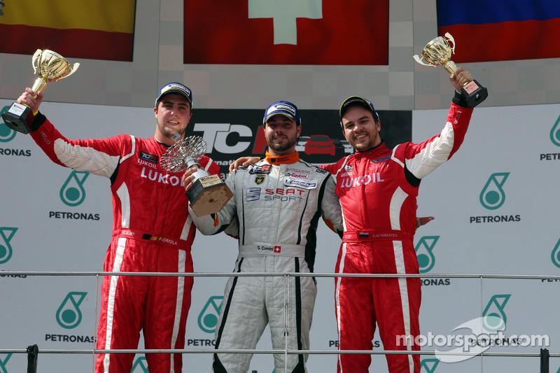 1st position Stefano Comini, SEAT Leon Racer, Target Competition, 2nd position Pepe Oriola, SEAT Leo