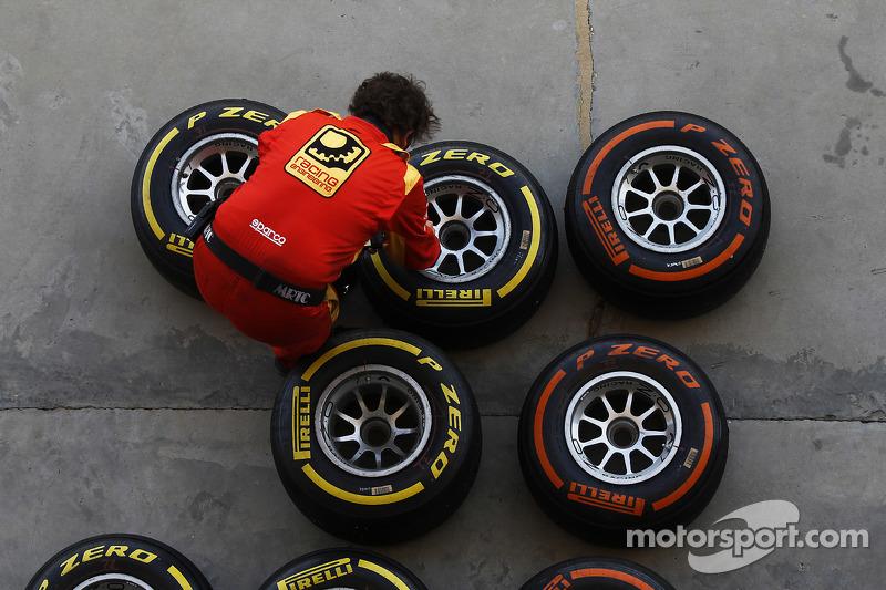 Racing Engineering bereitet die Pirelli-Reifen vor