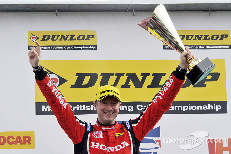 Round 2 race winner Gordon Shedden