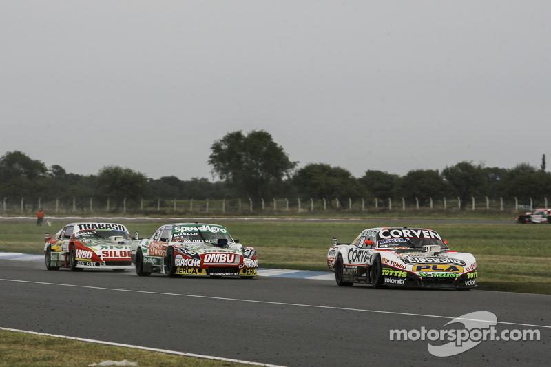Juan Marcos Angelini, UR Racing Dodge, Facundo Ardusso, Trotta Competicion Dodge, Mariano Altuna, Altuna Competicion Chevrolet