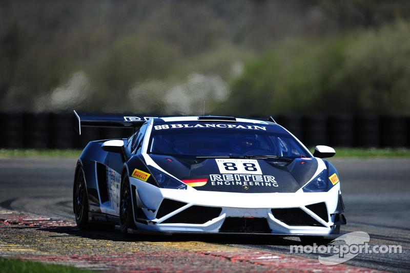 #88 Reiter Engineering Lamborghini Gallardo LP560-4R-EX: Albert von Thurn und Taxis, Nicky Catsburg