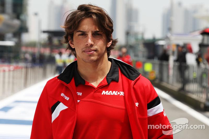 Roberto Merhi, Manor F1, recorre el circuito
