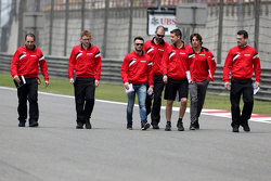 Уилл Стивенс, Manor F1 Team и Роберто Мери, Manor F1 Team