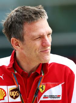 Джеймс Эллисон, технический директор Ferrari по шасси