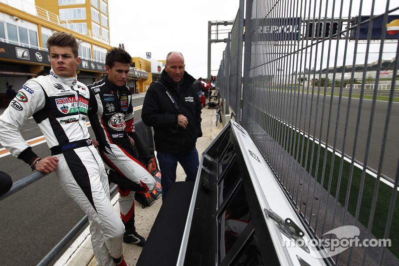 Seb Morris Status Grand Prix& Sandy Stuvik Status Grand Prix