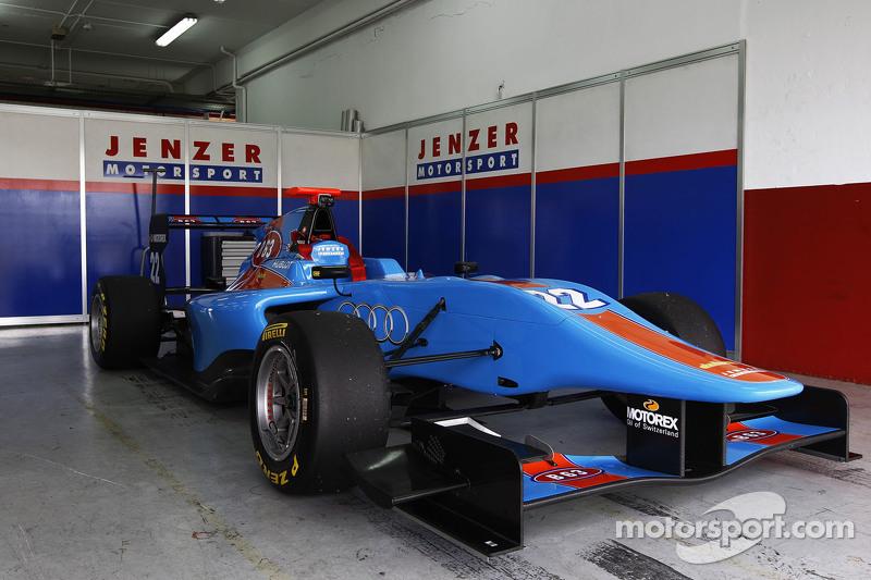 Mobil dari Ralph Boschung Jenzer Motorsport di garasi