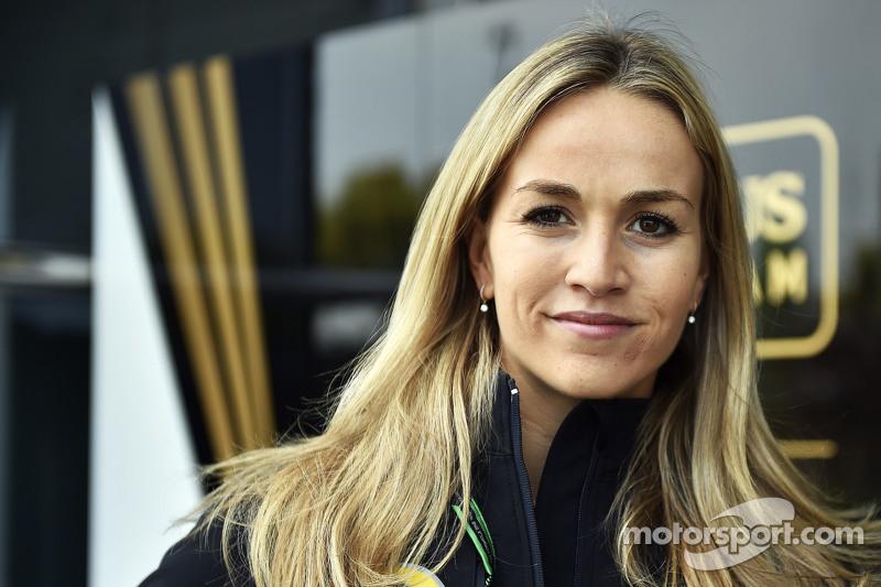 Carmen Jorda, piloto de desarrollo de Lotus F1