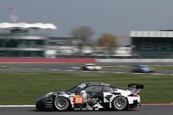 #88 Proton Competition Porsche 911 GT3 RSR: Christian Ried, Gianluca Roda, Khaled Al Qubaisi