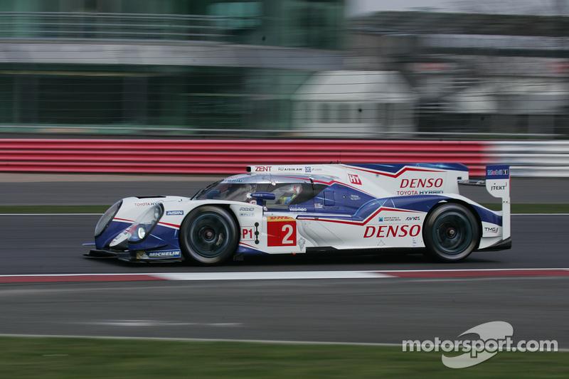 #2 Toyota Racing Toyota TS040-Hybrid: Alexander Wurz, Stéphane Sarrazin, Mike Conway