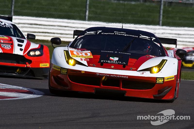 #60 方程式车队,法拉利F458 Italia: Johnny Laursen, Mikkel Mac, Andrea Rizzoll