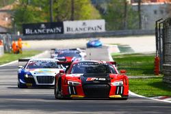 #2 Belgian Audi Club Team WRT, Audi R8 LMS: Frank Stippler, Stéphane Ortelli, Nico Müller