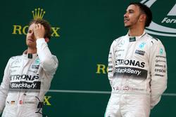 Lewis Hamilton, Mercedes AMG F1 Team et Nico Rosberg, Mercedes AMG F1 Team