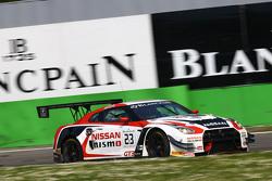 #23 Nissan GT Academy Team RJN Nissa GT-R Nismo GT3: Katsumasa Chiyo, Wolfgang Reip, Alexander Buncombe