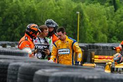 Sebastien Bourdais, KVSH Racing et Simon Pagenaud, Team Penske Chevrolet