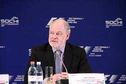 Ричард Креган, международный консультант Гран-при Росиии Формулы-1