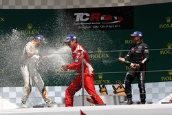 Podium Race 2: 1st position  Andrea Belicchi, SEAT Leon Racer, Target Competition  2nd position Stefano Comini, SEAT Leon Racer, Target Competition  3rd position Gianni Morbidelli, Honda Civic TCR, West Coast Racing