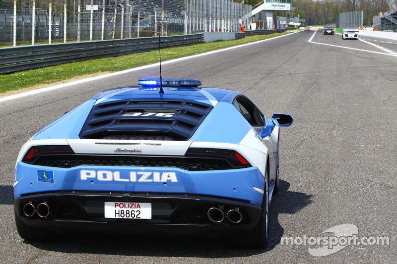Lamborghini safety car